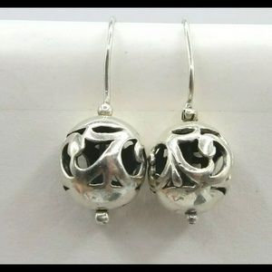 SILPADA Simple Delight Filigree Ball Earrings